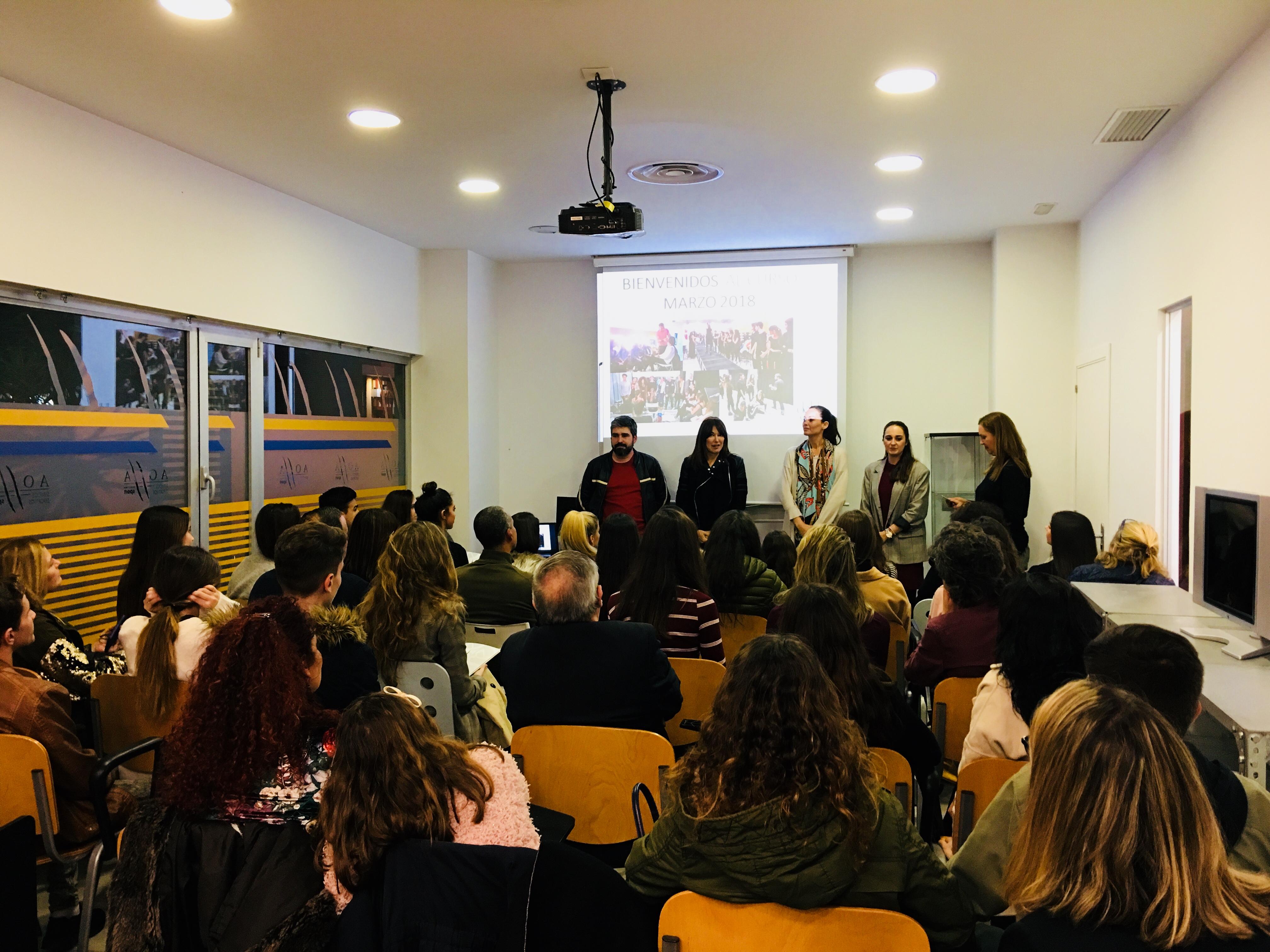 Inauguración del Curso de Modelos Marzo 2018