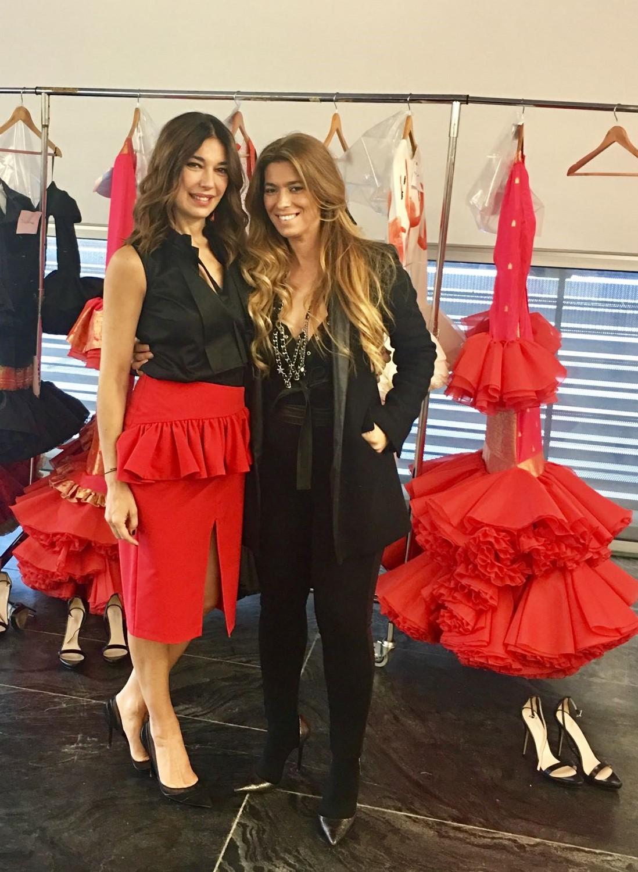 Raquel con Juana Martín