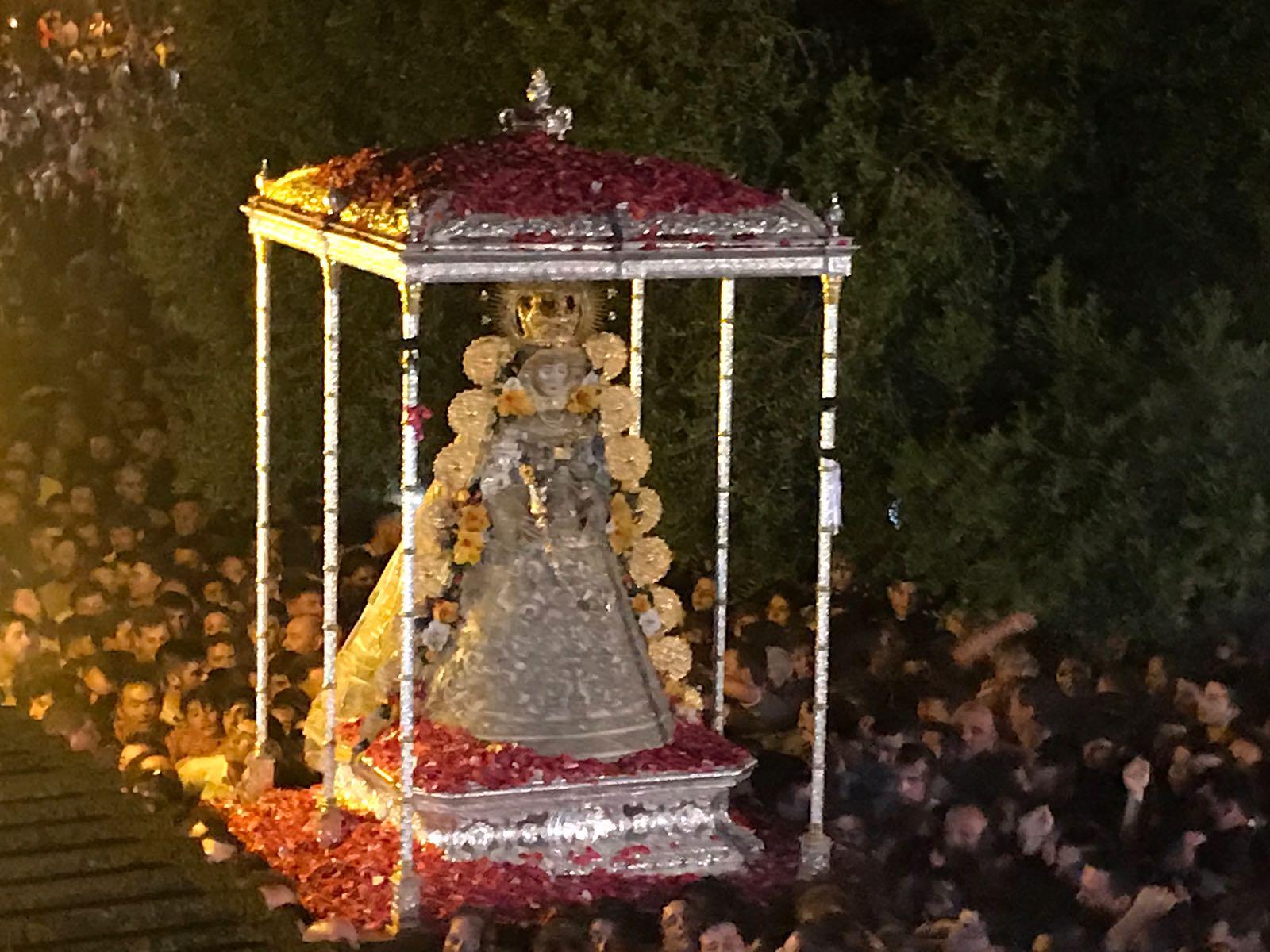 La Virgen del Rocío en La Aldea